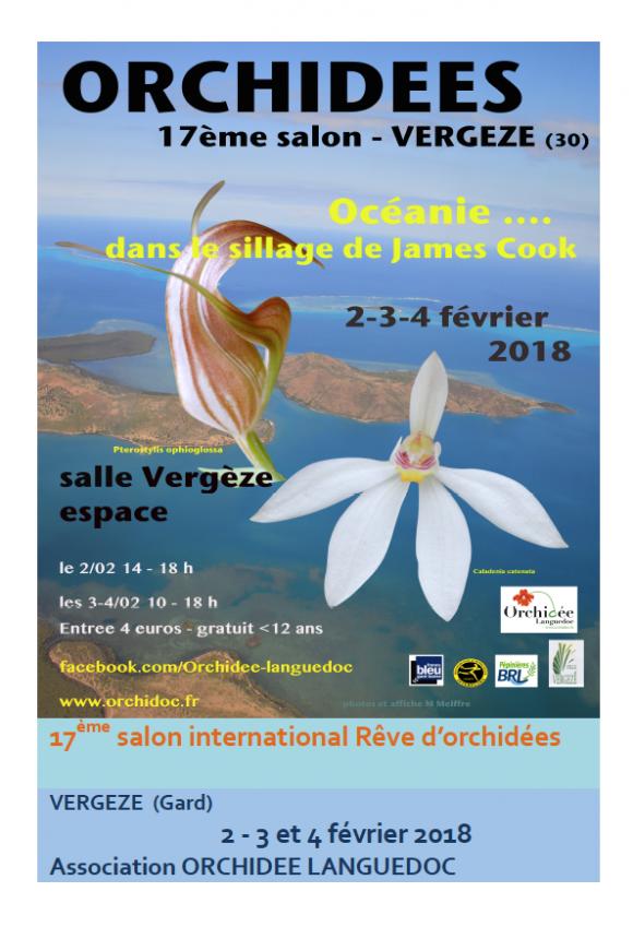 Orchidées, Gard, Vergèze