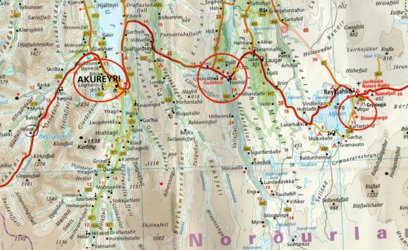 Voyages,Islande, Myvatn, Akureyri