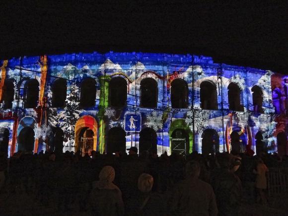 Nîmes,Noël
