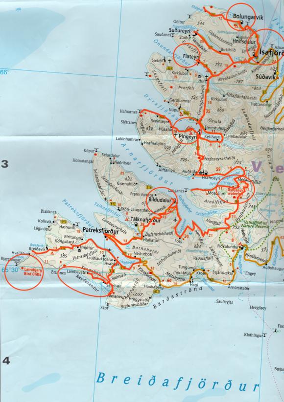 Voyages,islande, isafjordur,Latrabjarg